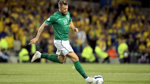 Anthony Pilkington is a doubt for the game with Latvia thanks to a dead leg
