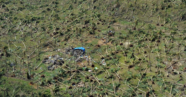The damage to the coconut and rice-growing region was expected to amount to over €50m