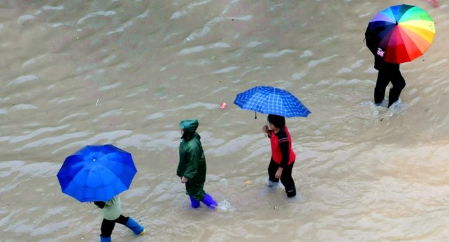Typhoon hit south west China
