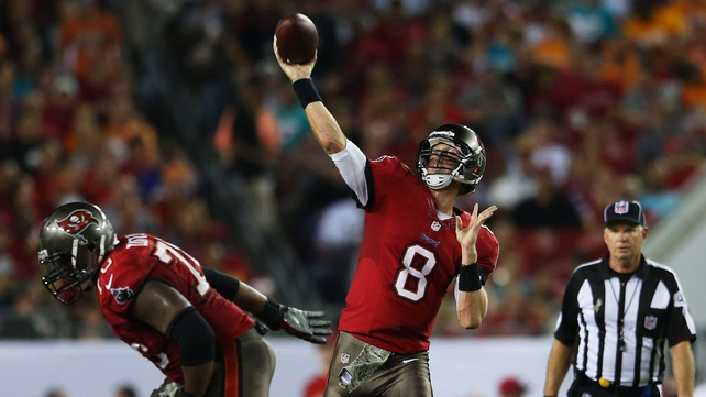 Mike Glennon of the Tampa Bay Buccaneers