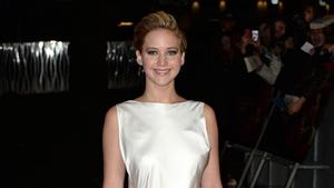Jennifer Lawrence - at last night's premiere