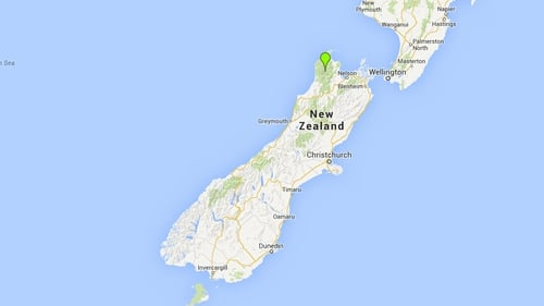 Kahurangi National Park covers a large area of New Zealand's south island