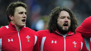 The availability after injury of Jonathan Davies (l) could prove crucial for Wales