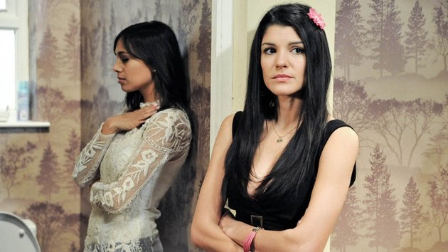 Alicia realises Priya is still pregnant