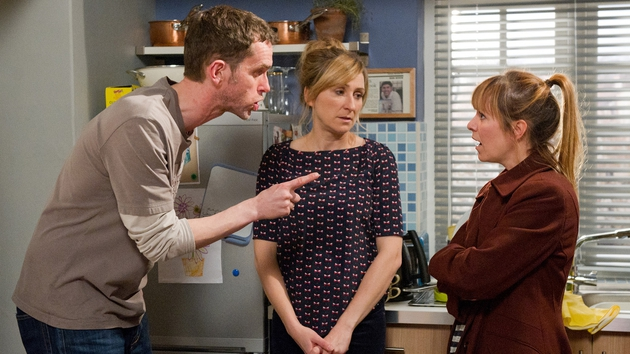 Marlon has a war of words with Rhona