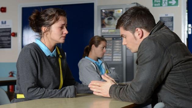 Joey breaks the bad news to Alice