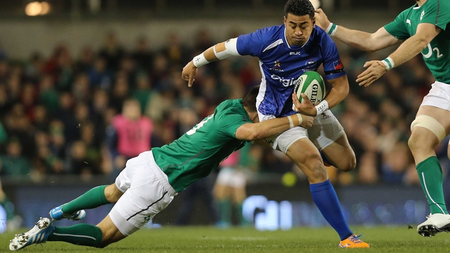 George Pisi will be sidelined for six weeks