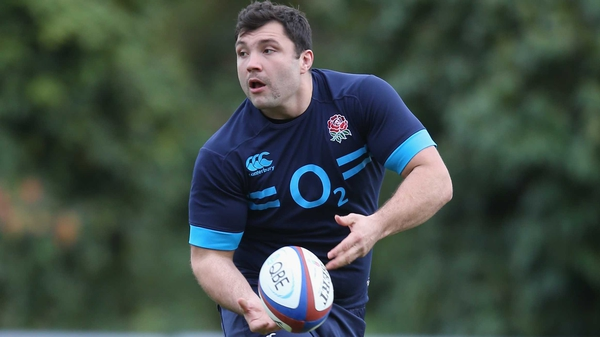 Alex Corbisiero has been forced to withdraw from the England squad