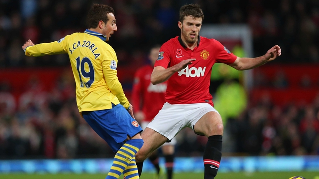 Michael Carrick has been ruled out of action for six weeks