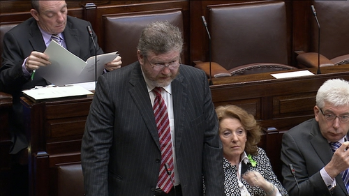 Minister James Reilly said the service plan may take some time to complete