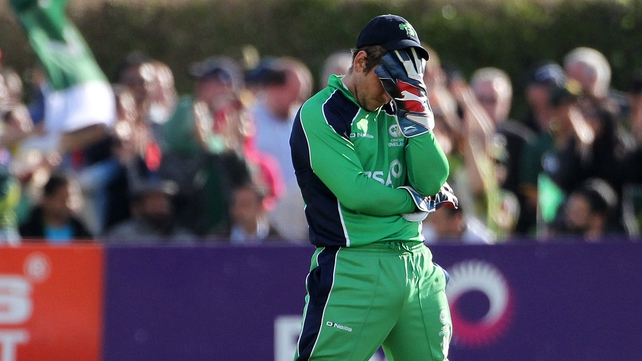 Set a target of just 97 for victory, Ireland finished 11 runs short after their 20 overs