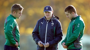 Ian Madigan (left) replaces Paddy Jackson (right) in the Ireland squad to tour Argentina