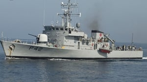 The LÉ Ciara detained the boat south west of Mizen Head last night