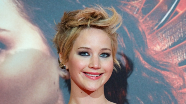 Jennifer Lawrence has a fear of falling on red carpets