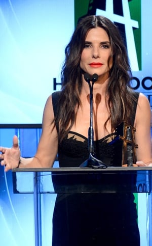 Sandra Bullock jokingly said that she doesn't find George Clooney attractive