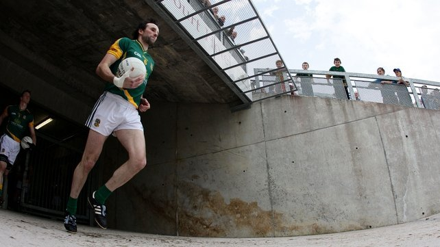 Shane McAnarney, who captained Meath in 20