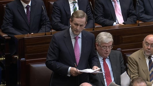 Ireland to exit bailout without a backstop - Fergal Keane reports.