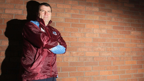 Drogheda's new manager, former assistant boss Robbie Horgan