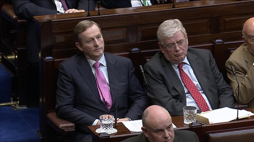 Enda Kenny and Eamon Gilmore made the announcement after a Cabinet meeting