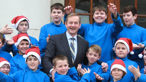 Palestrina Choir with Taoiseach Enda Kenny