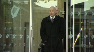 Tiernan O'Mahoney denied charges of conspiring to destroy or falsify records of bank accounts