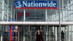 Nationwide reported a 52% increase in first-quarter underlying profit to £400m