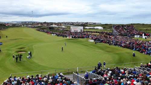 The 2012 Irish Open at Portrush drew huge crowds