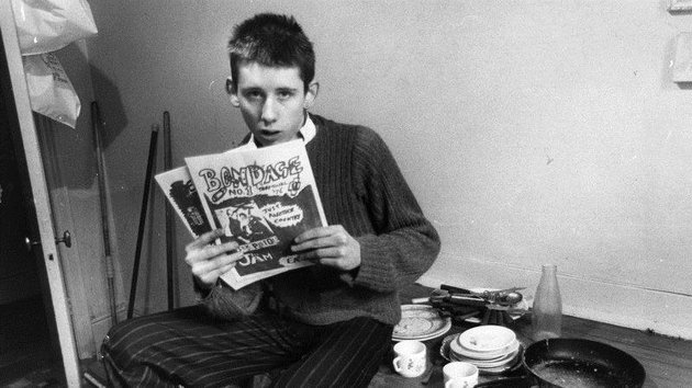 A young and specialised Shane MacGowan