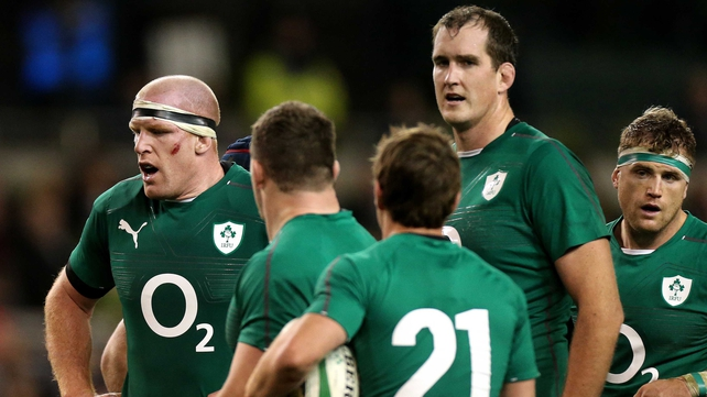 Devin Toner and Paul O'Connell will share line-out calling duties against Australia