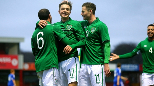 Jack Grealish is in the Republic of Ireland under-21 squad to play Germany