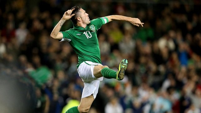 Robbie Keane registered the first of his 62 international goals in a 5-0 win against Malta in 1998