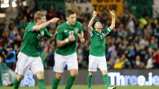 Robbie Keane put Ireland in front