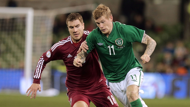 James McClean has again caused a bit of a stir on social media
