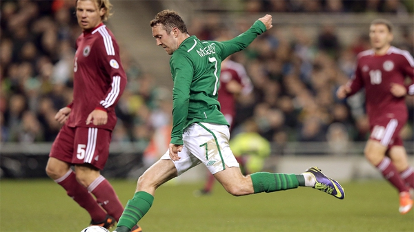 Aiden McGeady looks set to leave Spartak Moscow