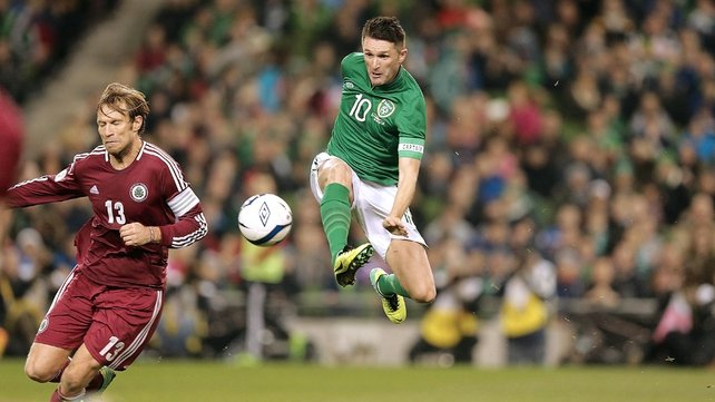Robbie Keane has been rested for the March clash with Serbia