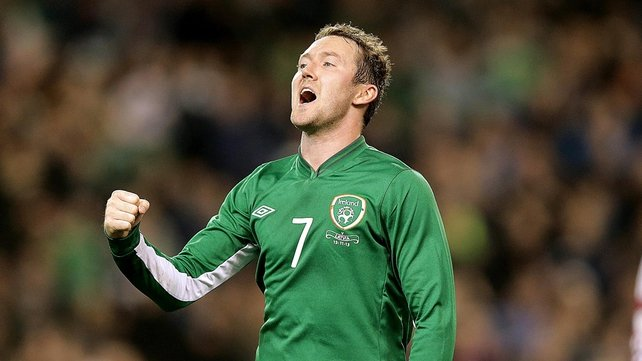 Aiden McGeady said he had no regrets about declaring for Ireland