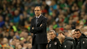 Martin O'Neill took charge of Ireland with Roy Keane as his assistant
