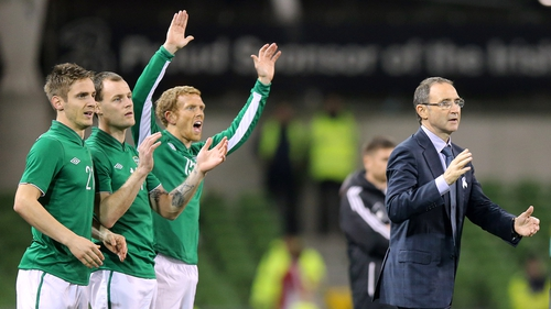 Martin O'Neill was pleased with the manner of the Ireland victory