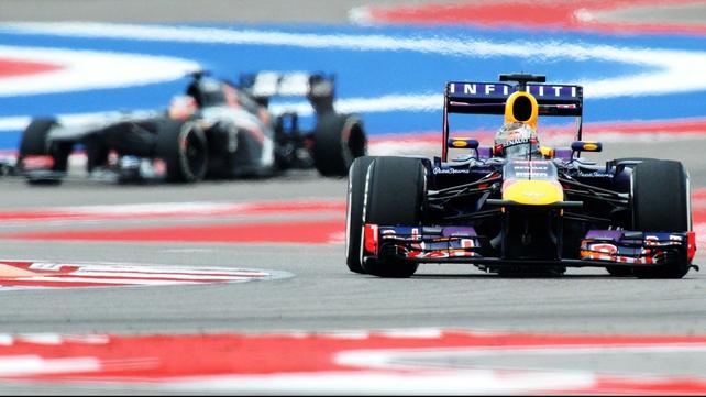 Sebastian Vettel takes pole in Austin