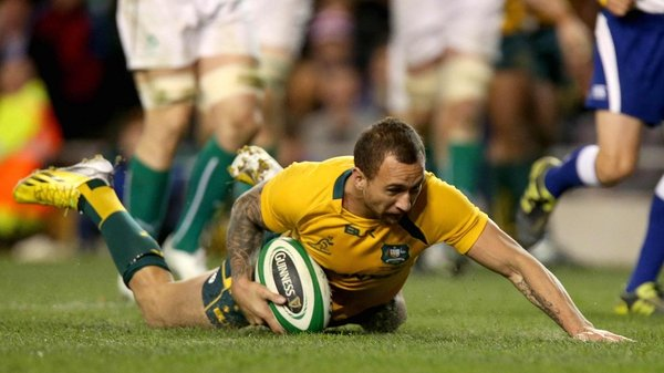 Quade Cooper inspired Australia to victory