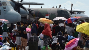 Aid agencies however say that food and supplies are reaching many survivors but there are still enormous logistical problems