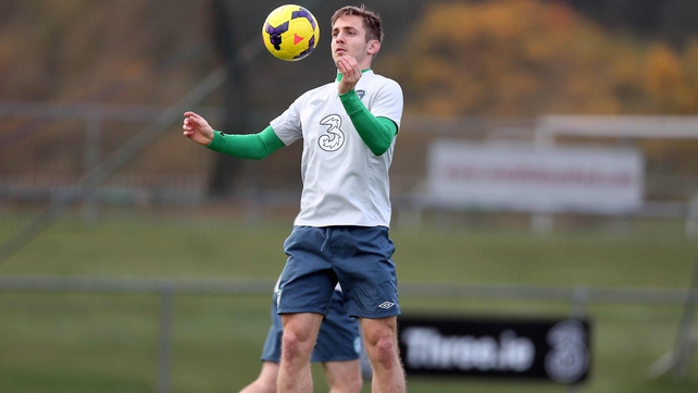 Kevin Doyle will be hoping to feature in Poznan after missing out on Friday