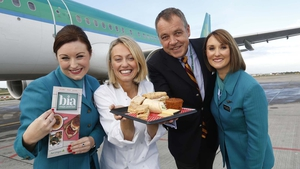 Clodagh McKenna and Aer Lingus launch Bia, a new on-board menu