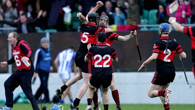 Joy for Mount Leinster Rangers at the final whistle