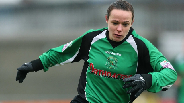Aine O'Gorman scored a brace for Peamount