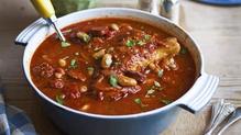 Chorizo, Chicken Bean Stew