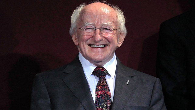 President Michael D Higgins has accepted the invitation to the official State visit on 8 April