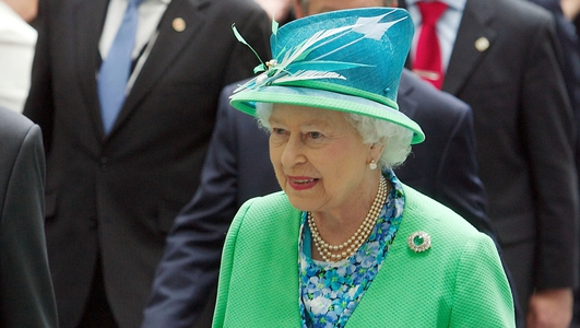 Buckingham Palace reception for Britain's Irish community