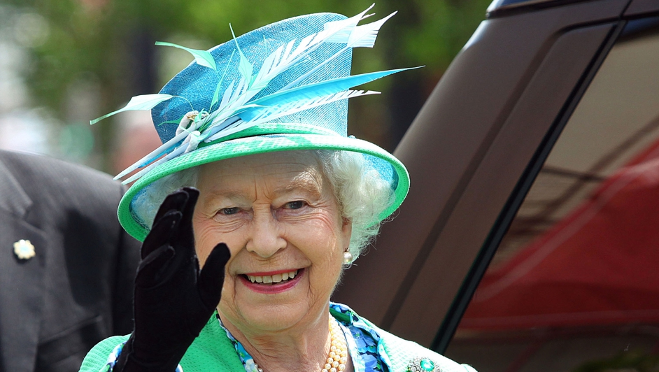 The Queen favoured green for much of her four-day visit