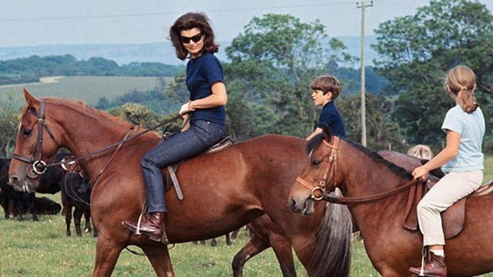 Jackie Kennedy in the aftermath of her husband's death